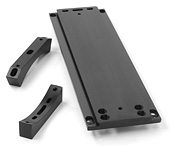DC8 Celestron Losmandy Style Astronomical Telescope Dovetail Mounting Plate Quick Change Bar